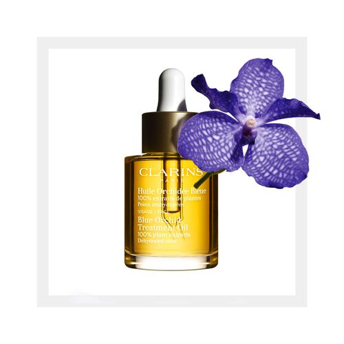 Huile Orchidée Bleue - Aceite para Rostro Piel Deshidratada