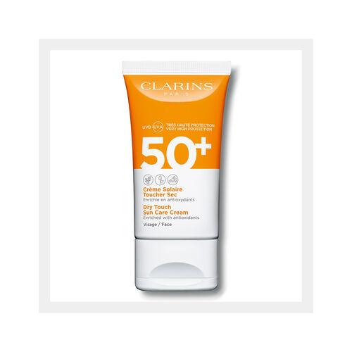 Protector Solar Crema Toque Seco para Rostro UVA/UVB 50+