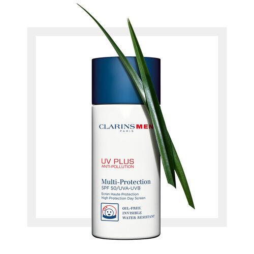 ClarinsMen UV+ FPS 50 Pantalla Mineral Anti-Contaminación