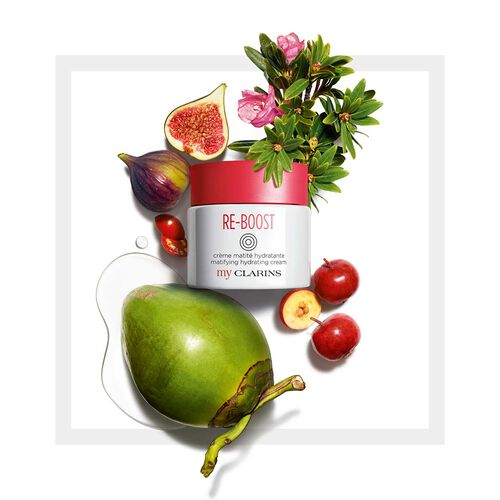 MyClarins RE-BOOST Day - Crema Hidratante Matificante