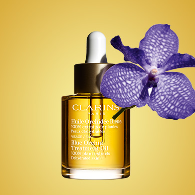 Aceite de Orquídea Azul con ingrediente Orquídea Azul