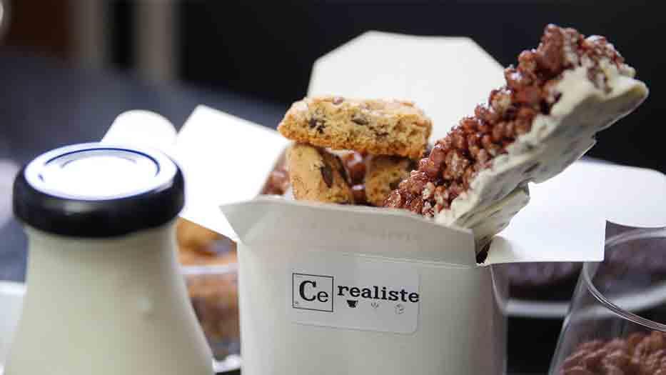 Bares de cereales: la tendencia Llega en París