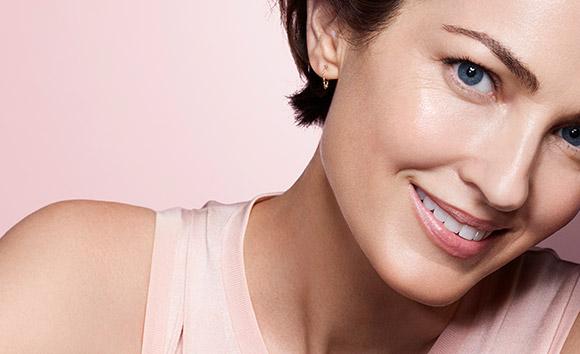 Imagen de mujer sonriente